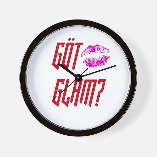 Got Glam? Wall Clock