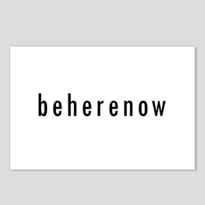 BeHereNow Postcards (Package of 8)