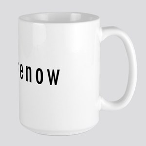 BeHereNow Large Mug