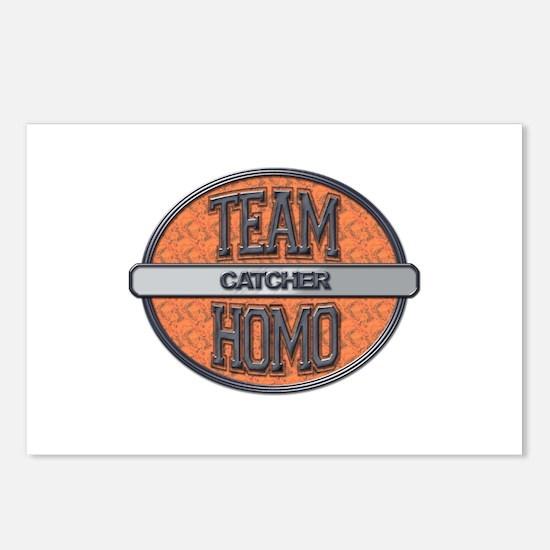 Team Homo Catcher Postcards (Package of 8)