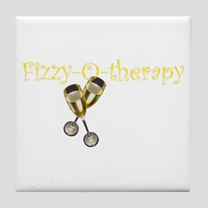Fizzy-o-therapy Tile Coaster