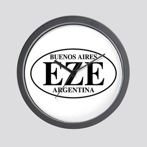 EZE Buenos Aires Wall Clock