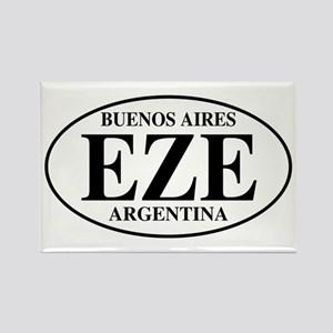 EZE Buenos Aires Rectangle Magnet