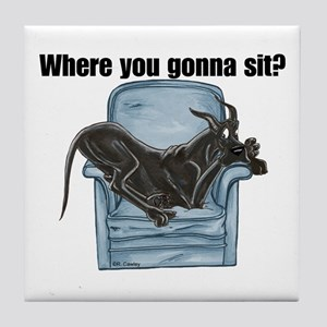 CBlk chair Where RU Tile Coaster