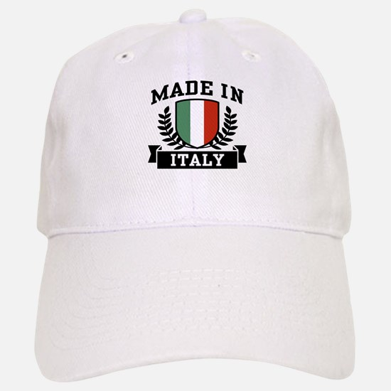 Made In Italy Baseball Baseball Cap