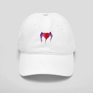 Bat Winged Heart Cap