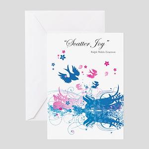 Scatter Joy Greeting Card