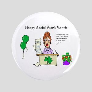 "Social Work Month Desk2 3.5"" Button"