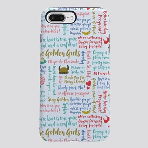 Golden Girls Quotes iPhone 7 Plus Tough Case