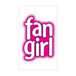 Fan Girl Rectangle Sticker