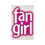 Fan Girl Rectangle Magnet (10 pack)