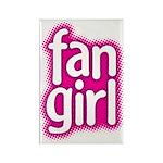 Fan Girl Rectangle Magnet
