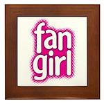 Fan Girl Framed Tile