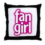 Fan Girl Throw Pillow