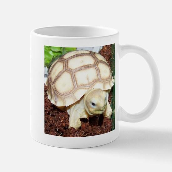 Unique Sulcata tortoise Mug
