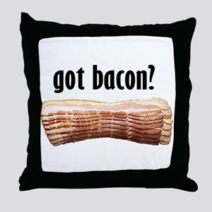 got bacon? Throw Pillow