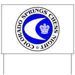 Colorado Springs Chess Night Yard Sign