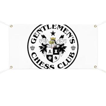 Gentlemen's Chess Club Banner