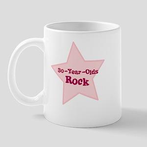 30-Year-Olds Rock Mug