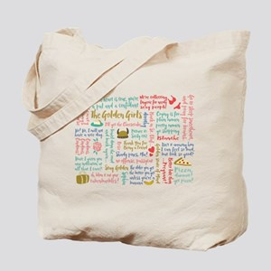 Golden Girls Quotes Tote Bag