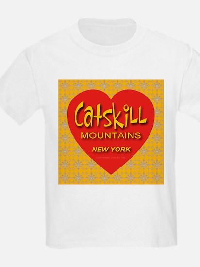 Catskill Mountains New York Kids T-Shirt
