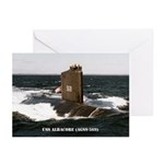 USS ALBACORE Greeting Cards (Pk of 10)