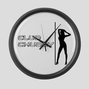 Chubby Club Crab Shack Large Wall Clock
