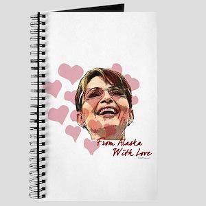 Sarah Palin Valentine Journal