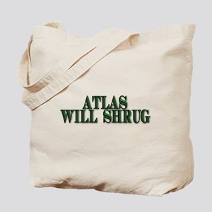 Atlas Will Shrug Tote Bag