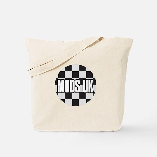 MODS UK BADGE Tote Bag