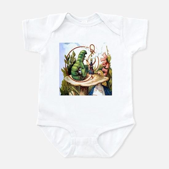 ALICE & THE CATERPILLAR Infant Bodysuit