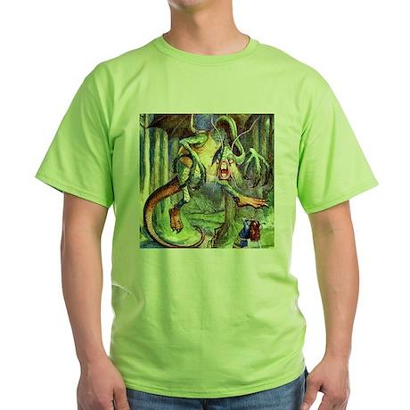 JABBERWOCKY Green T-Shirt
