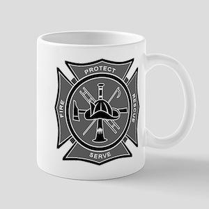 Maltese Cross - Monochrome Protect & Serve Mug