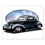 '39 Custom Street Rod Small Poster
