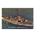 USS ALBERT T. HARRIS Postcards (Package of 8)