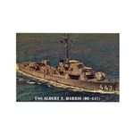USS ALBERT T. HARRIS Rectangle Magnet