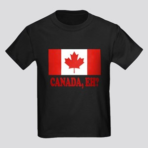 Canada, Eh? Kids Dark T-Shirt