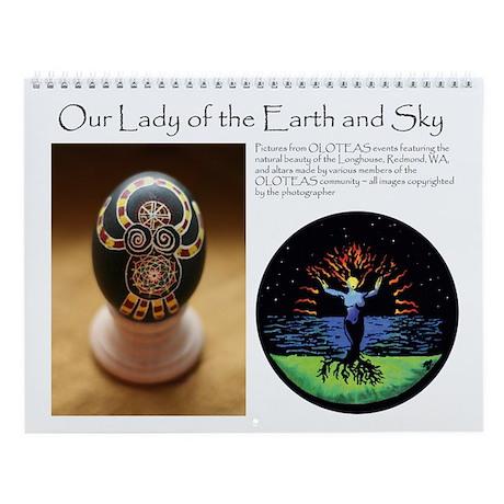 Earth & Sky Wall Calendar (v. 2)