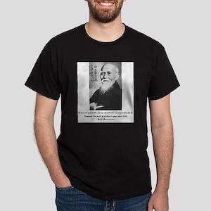 Morihei Ueshiba quote 2 Ash Grey T-Shirt