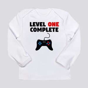 Level One Complete First Birthday Long Sleeve T-Sh
