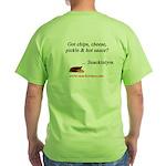 Got Snackintyre Stuff? Green T-Shirt