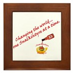 Snackintyre Framed Diversity Message