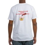 Snackintyre Fitted T-Shirt