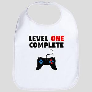 Level One Complete First Birthday Baby Bib