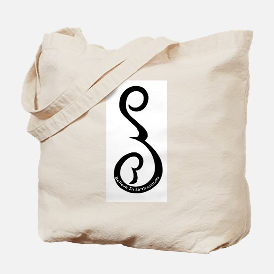 Believe In Birth Doula Tote Bag