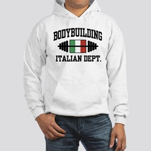 Italian Bodybuilding Hooded Sweatshirt