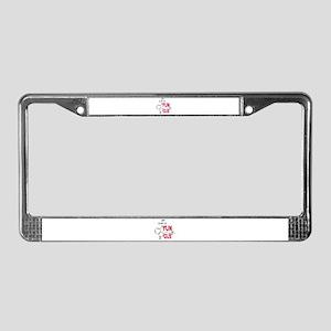 FUN GUS MAGIC MUSHROOMS License Plate Frame