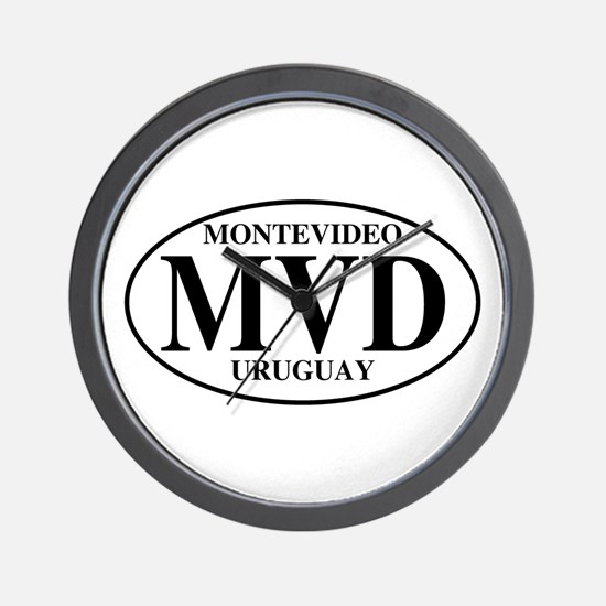 MVD Montevideo Wall Clock