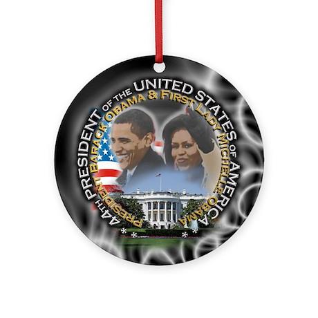 Obamas - Ornament (Round)