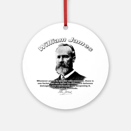 William James 02 Ornament (Round)